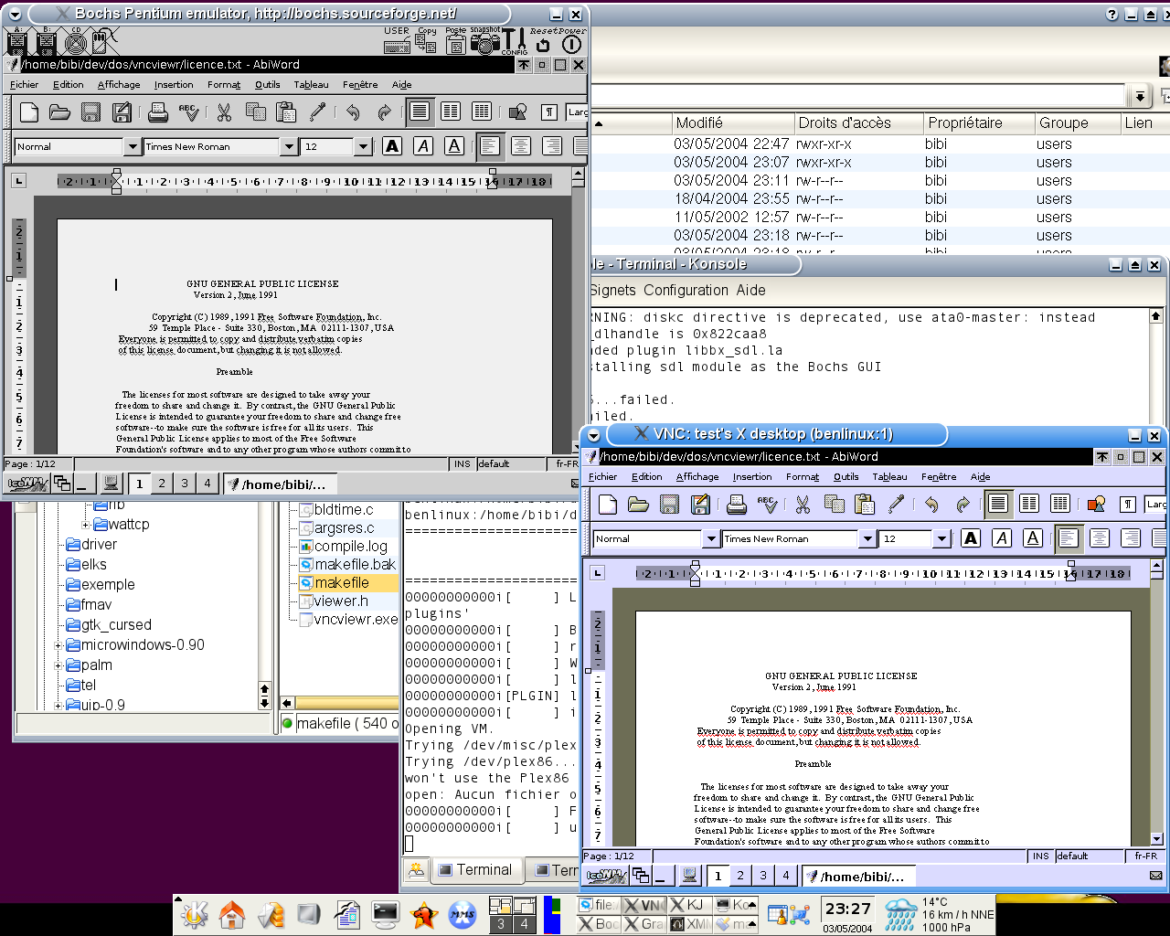 VncViewer for 8086